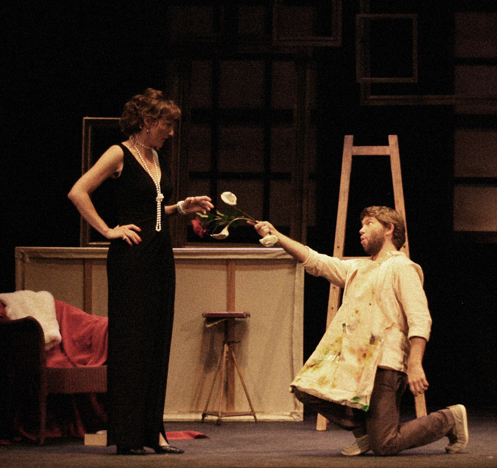 Masetto has a proposition for Lady Brannoch in 'Madame X'
